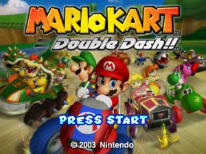 Mario Kart Title